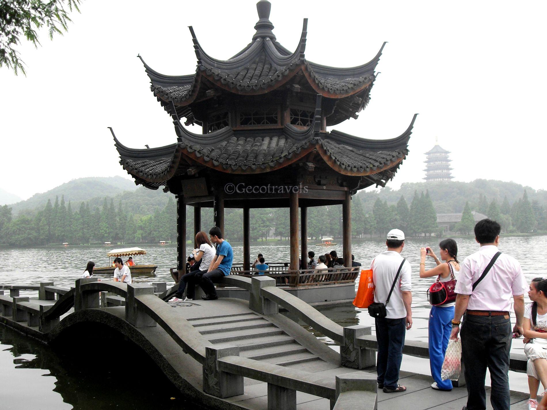 pagoda di Hangzhou